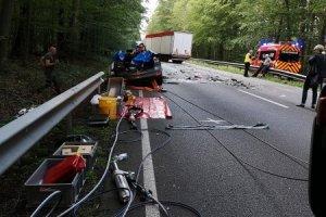 Anforderung RW – Personenbergung nach Verkehrsunfall  - B4 Bienenbüttel-Grünhagen 21.08.2019