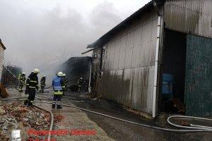 F3 - Scheunenbrand - Soltendieck - Bockholt  10.02.2019