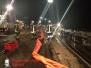 Tankschiff Leck geschlagen / ESK-Bevensen-Uelzen-Industriehafen 03.02.2014