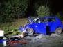 Verkehrsunfall – Person eingeklemmt – PKW unter landwirtschaftlichen Gerät -- B4 - Uhlenring 14.09.2018