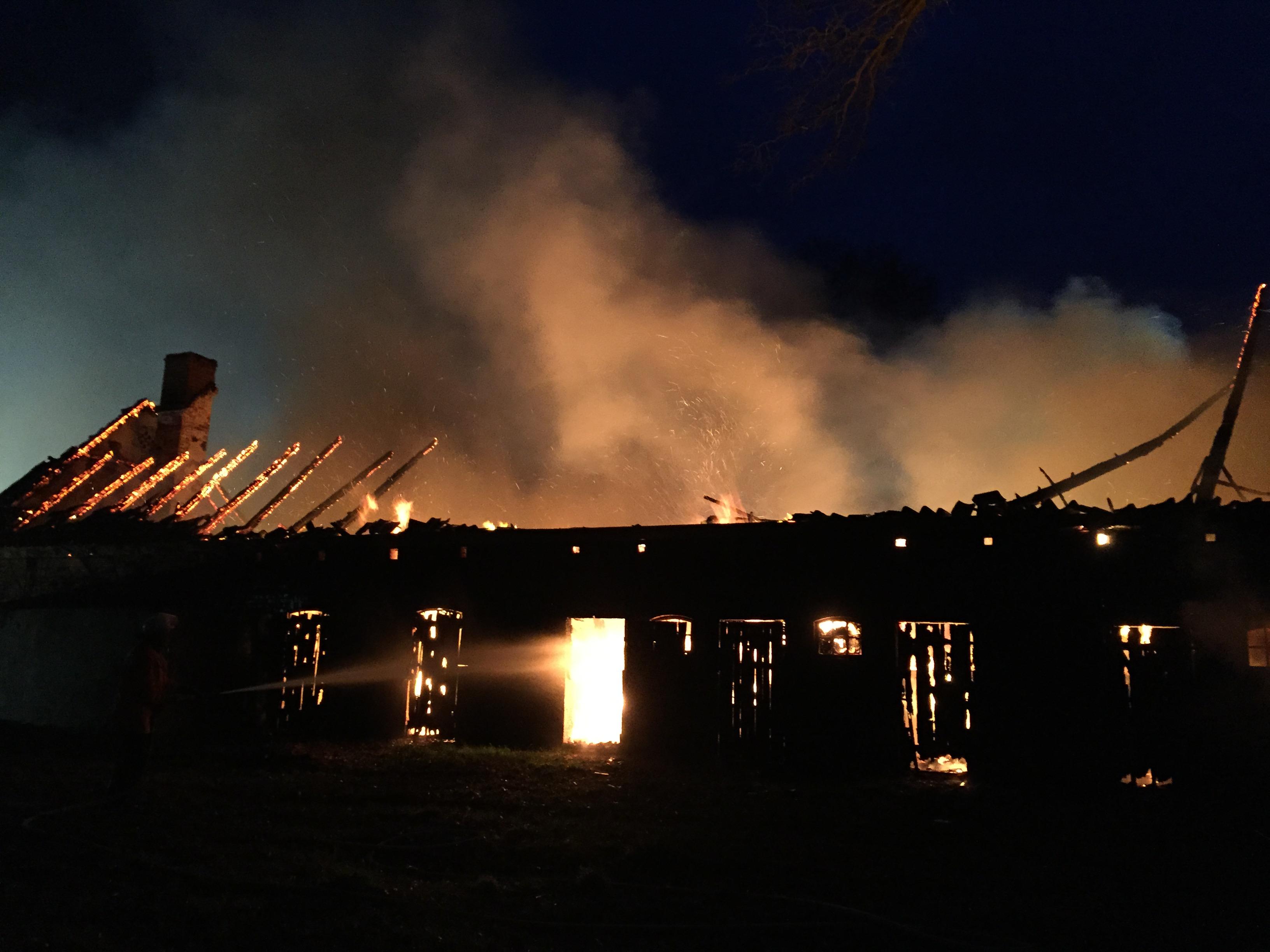 069. Gebäudebrand