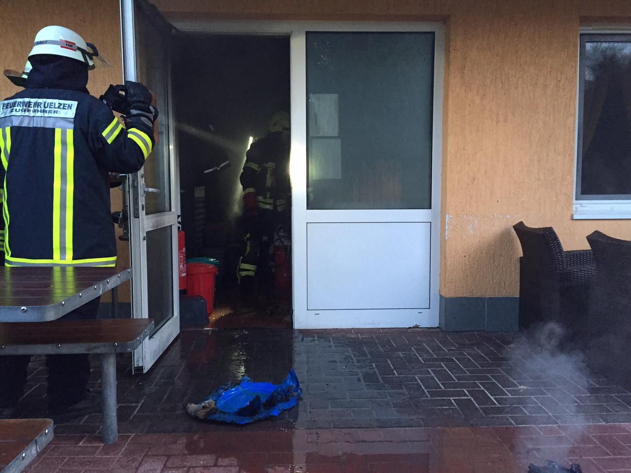 098. Entstehungsbrand in Gebäude