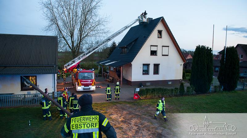 084. Anforderung DLK / Schornsteinbrand
