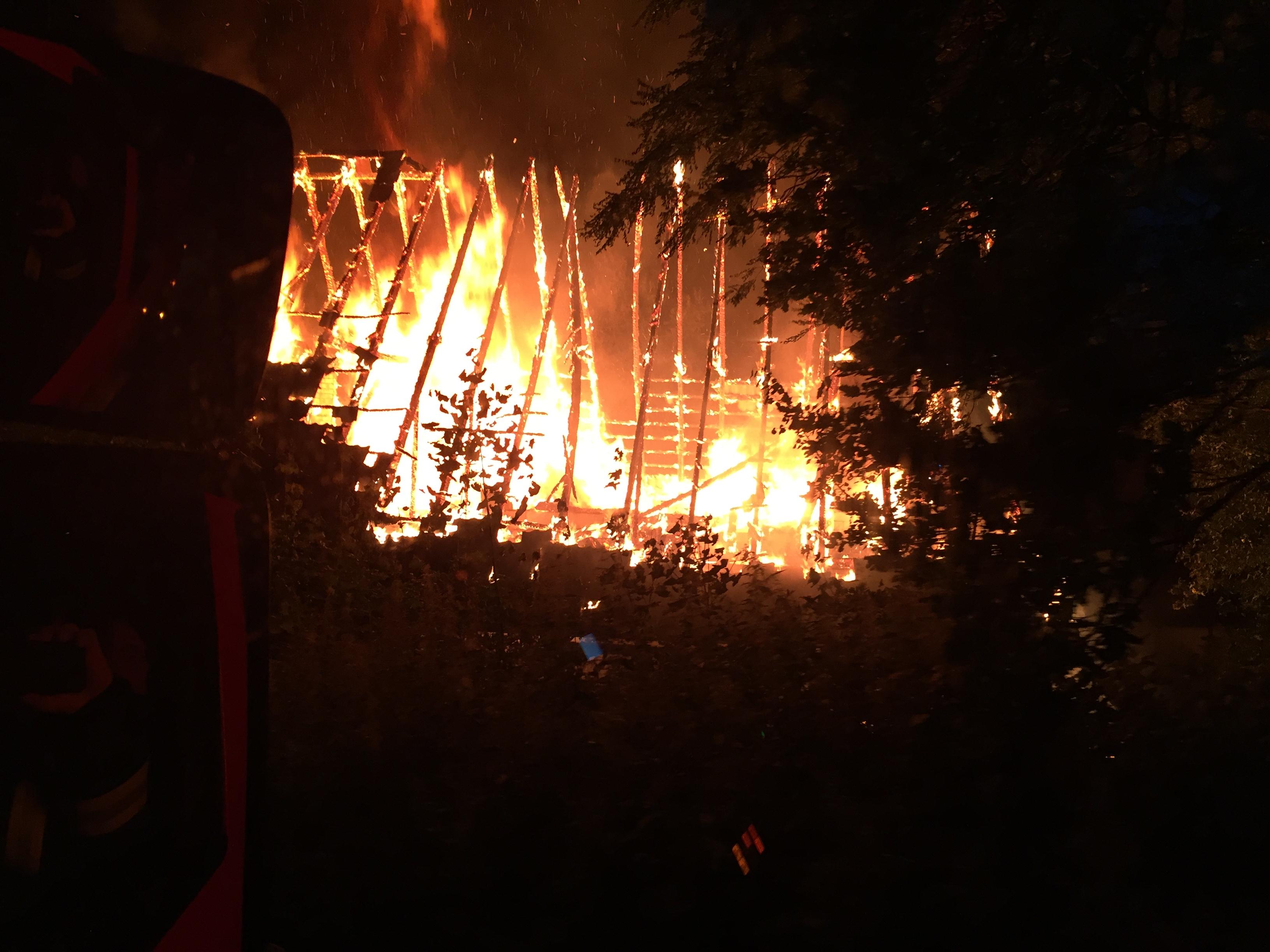 147. F2 Gebäudebrand