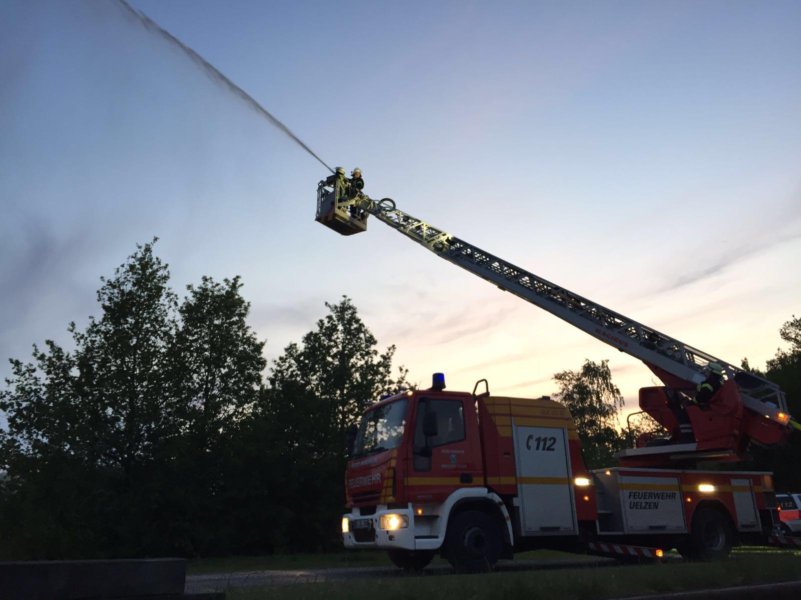 Ausbildungsdienste bei der Feuerwehr Uelzen
