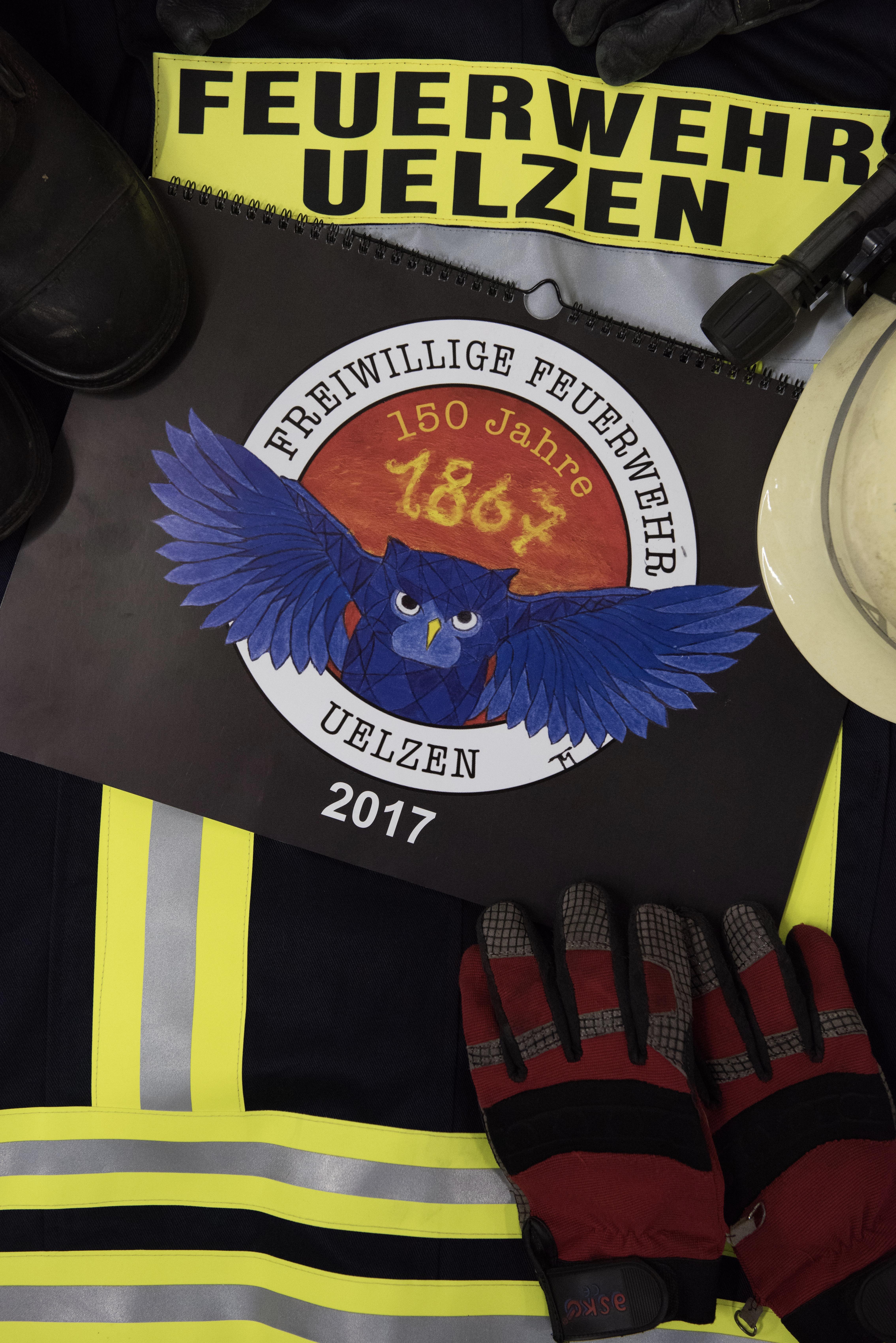 Jubiläumskalender der Feuerwehr Uelzen