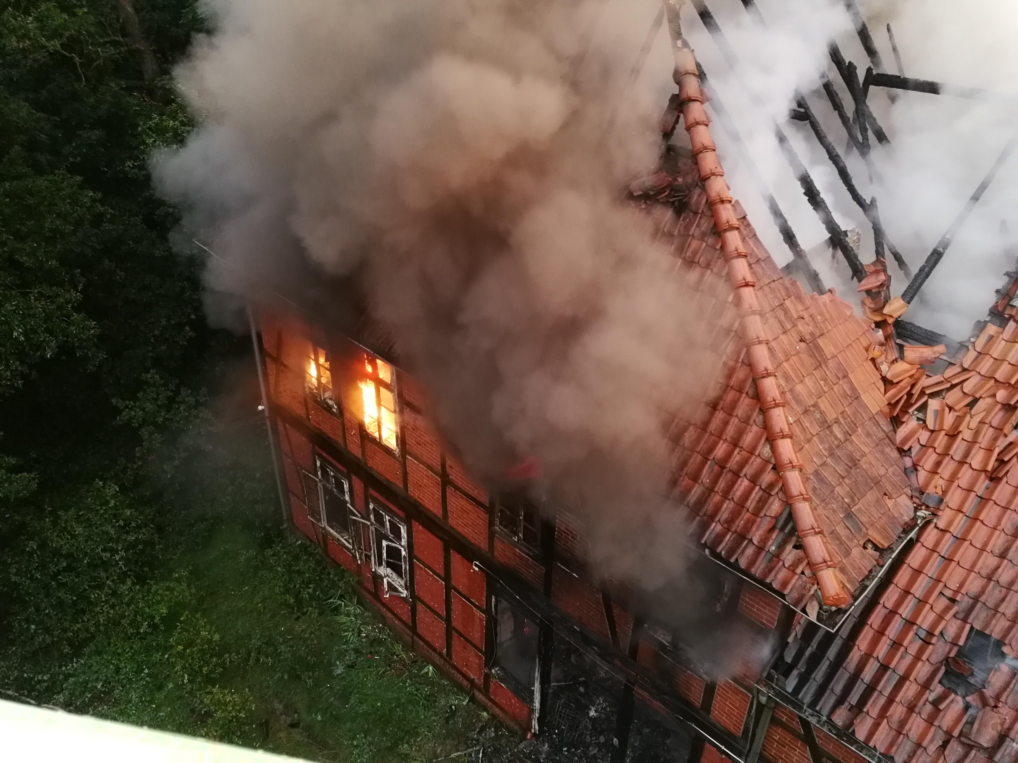 205. F3Y - Brennt Bauernhaus - Menschenleben in Gefahr