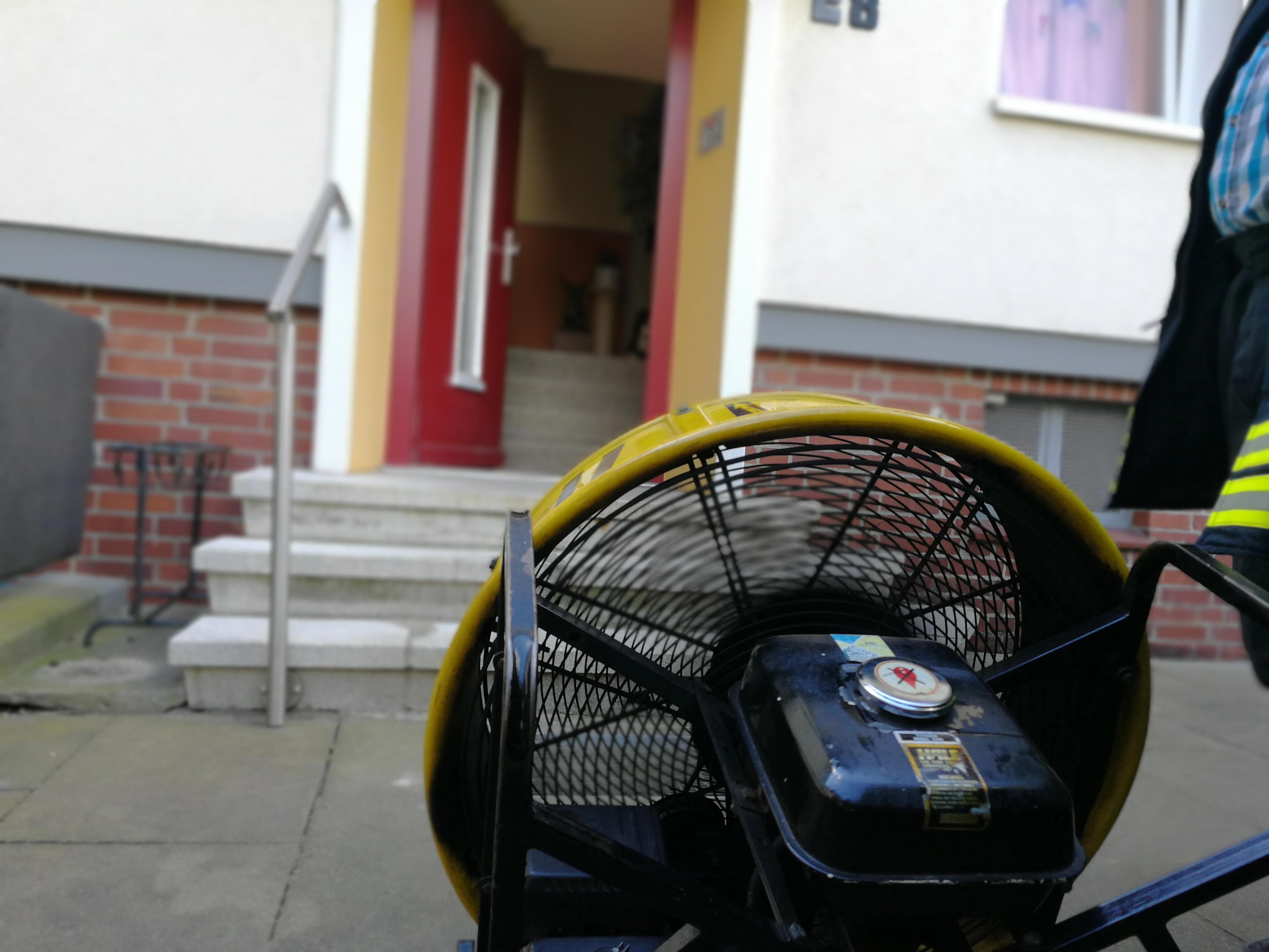 215. F1 - Rauchwarnmelder in Mehrfamilienhaus ausgelöst