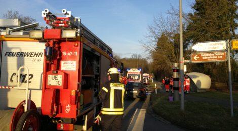 015. GefG1 - Defekte Gasleitung nach Baggerarbeiten