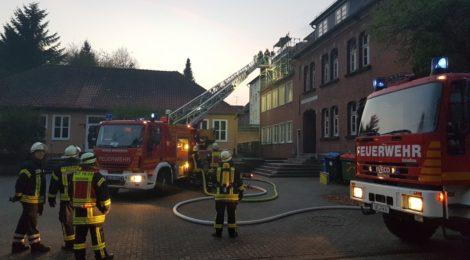 Schwelbrand in der Kaiserstraße