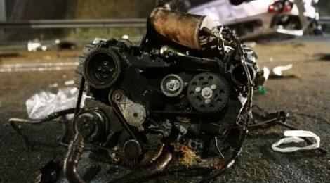 055. Verkehrsunfall - Person eingeklemmt