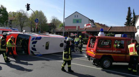 069. Verkehrsunfall - Person eingeklemmt