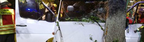 Gemeinsamer Einsatz der Feuerwehren Holdenstedt und Uelzen