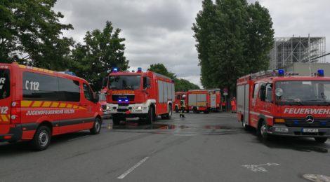 112. F3 - Feuer in 6. OG-Feuer im Dachbereich