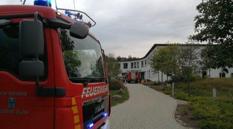 223. Auslösung Brandmeldeanlage - Feuer in Patientenzimmer