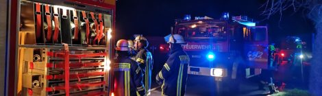 047. F2 - Vermutlich Wohnhausbrand