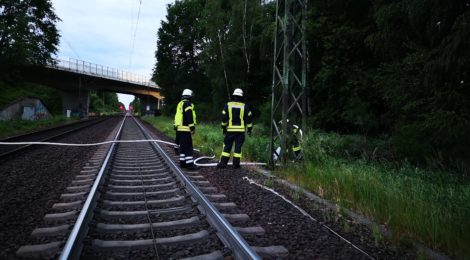 102. WB1 - Bahnböschungsbrand
