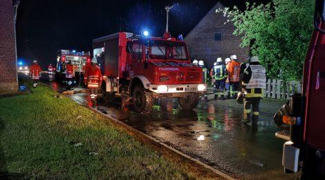 103. F2 - Brennt Einfamilienhaus
