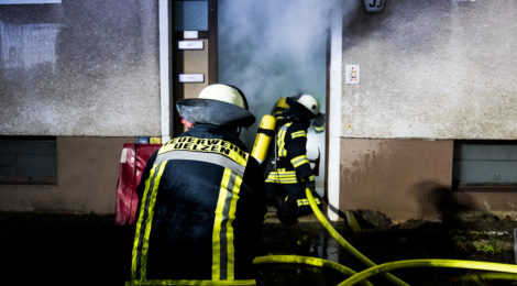 Feuerwehr Uelzen übt gemeinsam mit der DRK Bereitschaft den Ernstfall