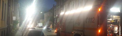 088. Hilfeleistung - - Amtshilfe für Polizei - Ausleuchten eines Tatorts