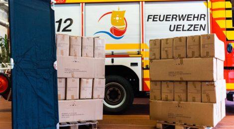 Großzügige Spende für die Jugendfeuerwehren der Hansestadt Uelzen