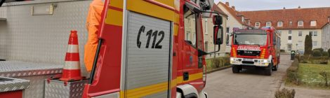012. B2 - Feuer unklar - - böswilliger Alarm!